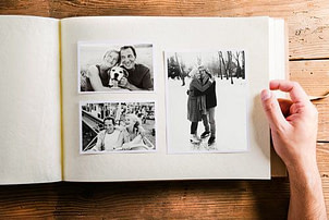 Photo album scanning service for all photo albums